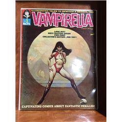 VAMPIRELLA #1 (1969) 1ST APP VAMPIRELLA. CLASSIC FRAZETTA COVER. LOWER GRADE - COMPLETE