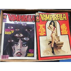 VAMPIRELLA  NEAR COMPLETE SET (1970-83) # 7 - 113 (LAST ISSUE) ONLY MISSING #'S 1 - 6, 12, 89, 108