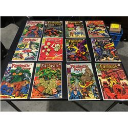 FANTASTIC FOUR SILVER & BRONZE AGE RUN OF 25 ISSUES (1964-71) LOT INCLUDE #'S 22, 29, 43, 51, 71,