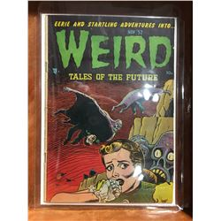 WEIRD TALES OF THE FUTURE #4 (1952) BASIL WOLVERTON COVER/ART. LOW GRADE/3 PIECES OF TAPE ON COVER
