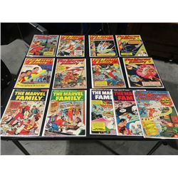 MARVEL FAMILY GOLDEN AGE LOT OF 13 ISSUES (1950-53) LOT INCLUDES #53, 56, 63, 68-70, 74-75 & 83-86.