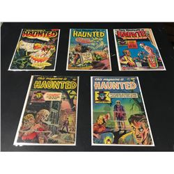 HIS MAGAZINE IS HAUNTED GOLDEN AGE LOT OF 5 ISSUES (1951-53) LOT INCLUDES #2, 4, 7, 8 &14. VERY