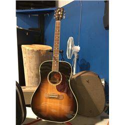 GIBSON SONGWRITER DELUXE ACOUSTIC GUITAR WITH HARD-SHELL CARRYING CASE #02978045