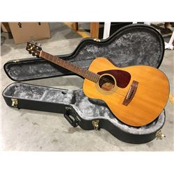 YAMAHA FG-170 ACOUSTIC GUITAR WITH HARD-SHELL CARRYING CASE