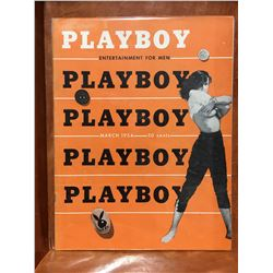 PLAYBOY #4 (1954) LOWER MID GRADE - COMPLETE