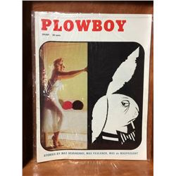 PLOWBOY SPRING 1957 #1 ISSUE MAGAZINE (RARE)