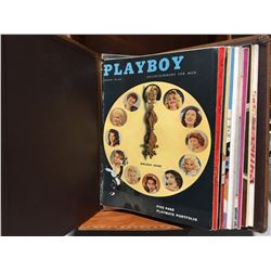 PLAYBOY 1957 COMPLETE SET - JANUARY THRU DECEMBER