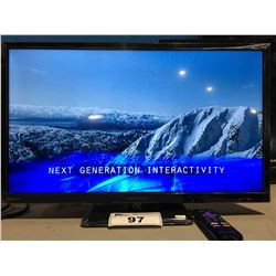"INSIGNIA ROKU 24"" LED TV WITH REMOTE"