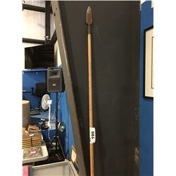 5' WOODEN HANDLED SPEAR