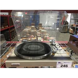 PIONEER MODEL PL574 AUTOMATIC RETURN TURNTABLE