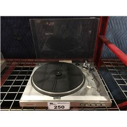 TOSHIBA MODEL SR-F450 TURNTABLE - MISSING DUST COVER MOUNTS