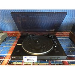 SONY MODEL PS-LX250H TURNTABLE