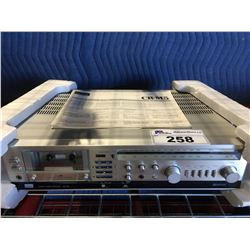 SANSUI CR-M5 STEREO RECEIVER WITH CASSETTE DECK