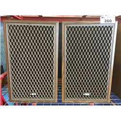 PAIR OF ELECTRO SOUND CLASSIC III HOME AUDIO SPEAKERS
