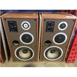 PAIR OF VINTAGE CELESTION DITTON 551 HOME AUDIO SPEAKERS WITH DUST COVERS