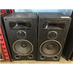 PAIR OF VIVID MODEL TX-995 HOME AUDIO SPEAKERS WITH DUST COVERS