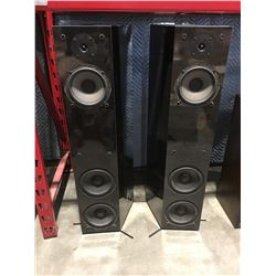 PAIR OF NHT MODEL II HOME AUDIO SPEAKERS - NO DUST COVERS