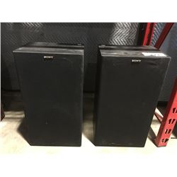 PAIR OF SONY HOME AUDIO SPEAKERS