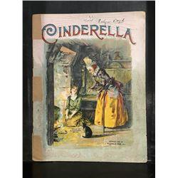 """1897 """"CINDERELLA"""" BOOK"""