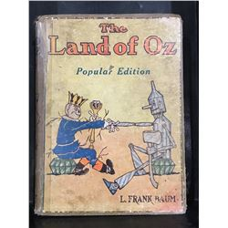 "1904 ""THE LAND OF OZ"" POPULAR EDITION BOOK"