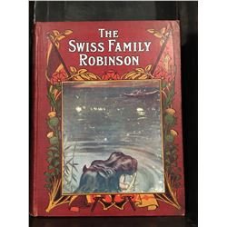 "INSCRIBED 1907 ""THE SWISS FAMILY ROBINSON"" BOOK"