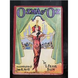 "1907 ""OZMA OF OZ"" BOOK"