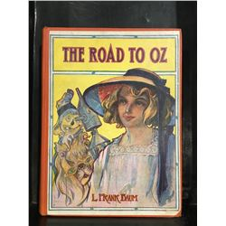 """THE ROAD TO OZ"" COPYRIGHT 1909 BOOK"