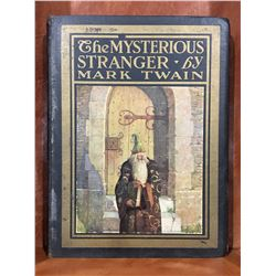 "1920 ""THE MYSTERIOUS STRANGER"" BY MARK TWAIN"
