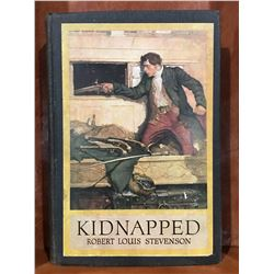 """KIDNAPPED"" BY ROBERT LOUIS STEVENSON COPYRIGHT 1921 - NICE OLD BOOK"