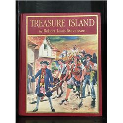 """TREASURE ISLAND"" BY ROBERT LOUIS STEVENSON COPYRIGHT 1926 - NICE OLD BOOK"