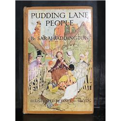 "1926 ""PUDDING LANE PEOPLE"" BY SARA ADDINGTON BOOK"