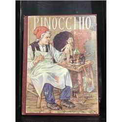"INSCRIBED 1929 ""PINOCCHIO A TALE OF A PUPPET"" BOOK"