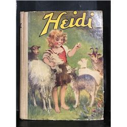 "INSCRIBED 1930 ""HEIDI"" - NICE OLD BOOK"