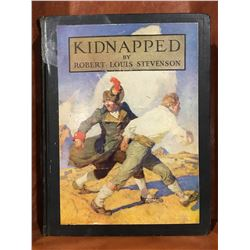 "INSCRIBED 1932 ""KIDNAPPED"" BY ROBERT LOUIS STEVENSON BOOK"
