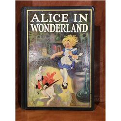 "INSCRIBED 1938 ""ALICE IN WONDERLAND AND THROUGH THE LOOKING GLASS"" BY CARROLL BOOK"