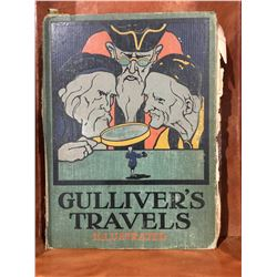 """GULLIVER'S TRAVELS"" ILLUSTRATED - VERY OLD BOOK - NO DATE"