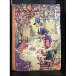 """ALICE IN WONDERLAND"" BY LOUIS CARROLL PRINTED BY CHILDRENS PRESS GLASGOW - NICE OLD BOOK - NO DATE"