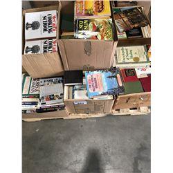 PALLET LOT OF ASSTD BOOKS - COOK BOOKS ECT