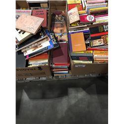 PALLET LOT OF ASSTD BOOKS - EROTICA ECT