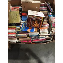 PALLET LOT OF ASSTD BOOKS - MOSTLY SEXUAL & EROTICA
