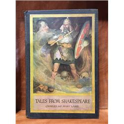 """TALES FROM SHAKESPEARE"" CHARLES & MARY LAMB COPYRIGHT 1918"