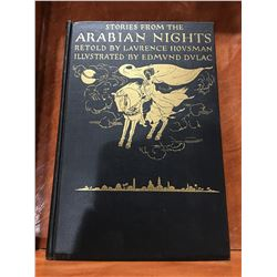 THE STORIES FROM THE ARABIAN KNIGHTS - RETOLD BY LAURENCE HOUSMAN - NO DATE