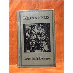 KIDDNAPPED - BY ROBERT LOUIS STEVENSON - NO DATE