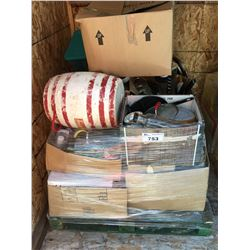 PALLET LOT OF MISC.  COOKWARE, KITCHEN ITEMS ECT.