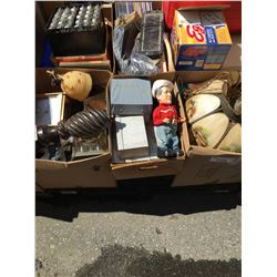 PALLET LOT OF ASSTD GENERAL HOUSEHOLD & MISC. ITEMS