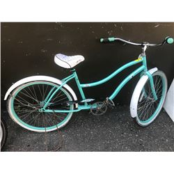BLUE RETRO STYLE BICYCLE