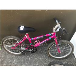 PINK INTREPID CHILDS BIKE