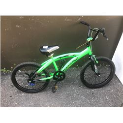 GREEN KENT CHILDS BIKE