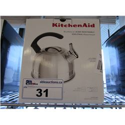 KITCHENAID 1.9L PORCELAIN ENAMEL KETTLE