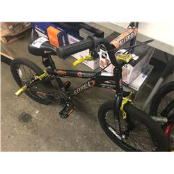 BLACK RAZOR BMX BIKE WITH STUNT PEDALS